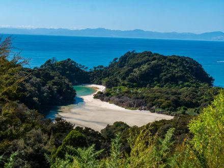 La côte d'azur néo-zélandaise