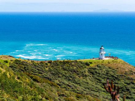 La pointe nord de la Nouvelle-Zélande