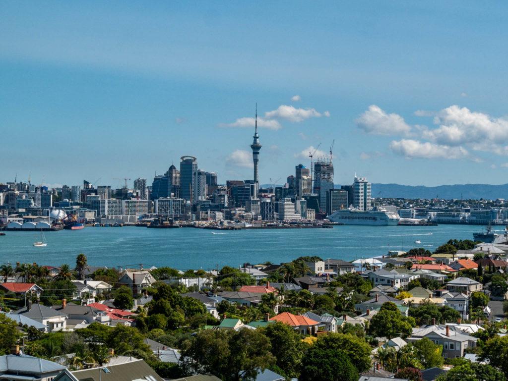 Auckland vue du Devonport