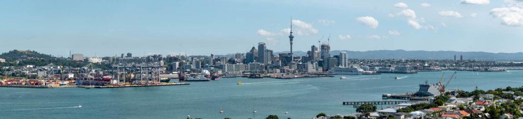 Panorama d'Auckland