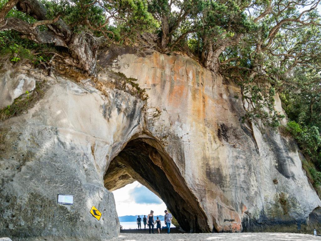 L'arche de Cathedral Cove