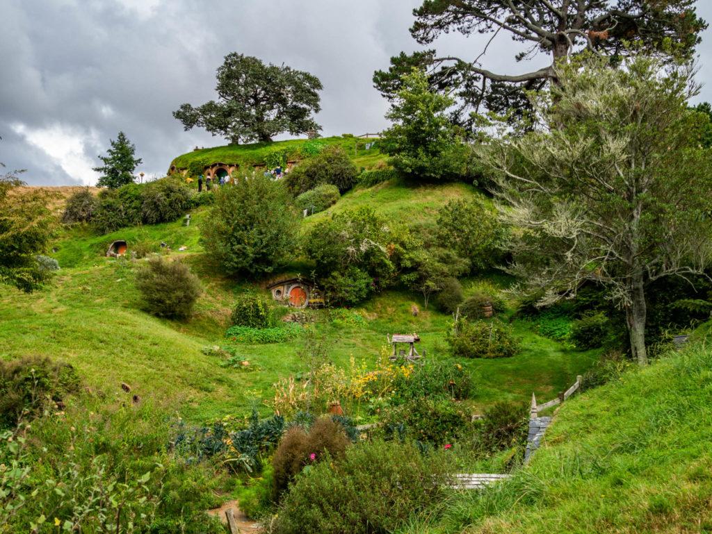 Le village d'Hobbiton
