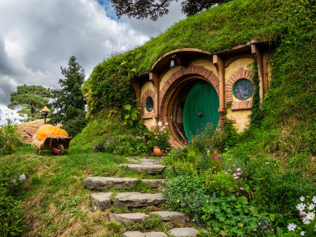 La maison de Bilbo et Frodon