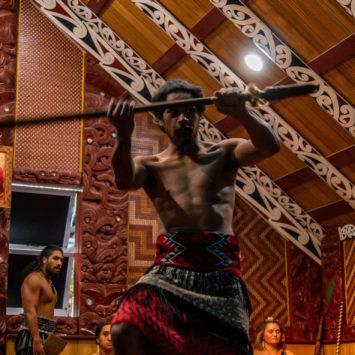 A la rencontre des maoris