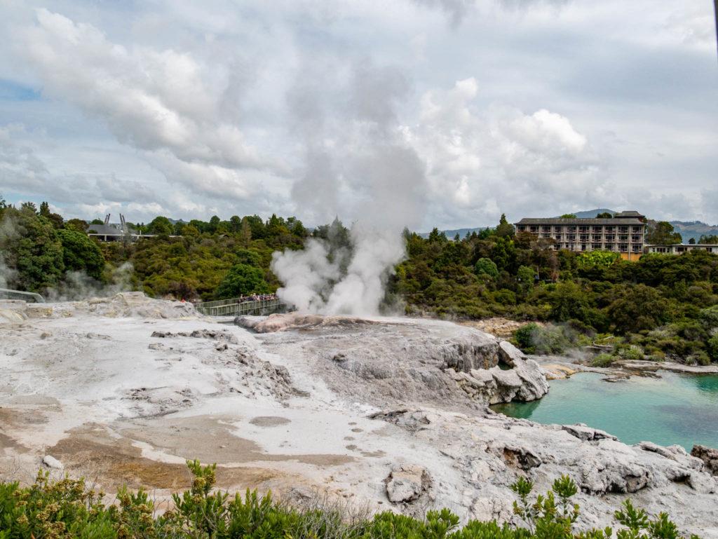 Un aperçu de l'activité volcanique