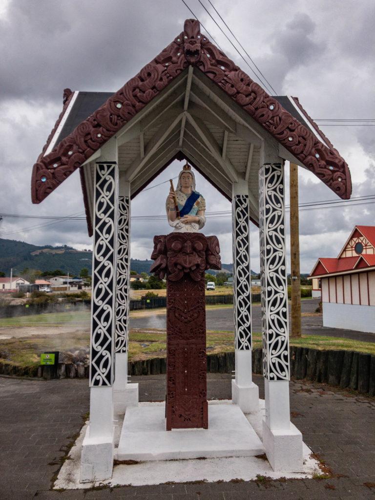 La reine d'Angleterre au pays des Maoris !
