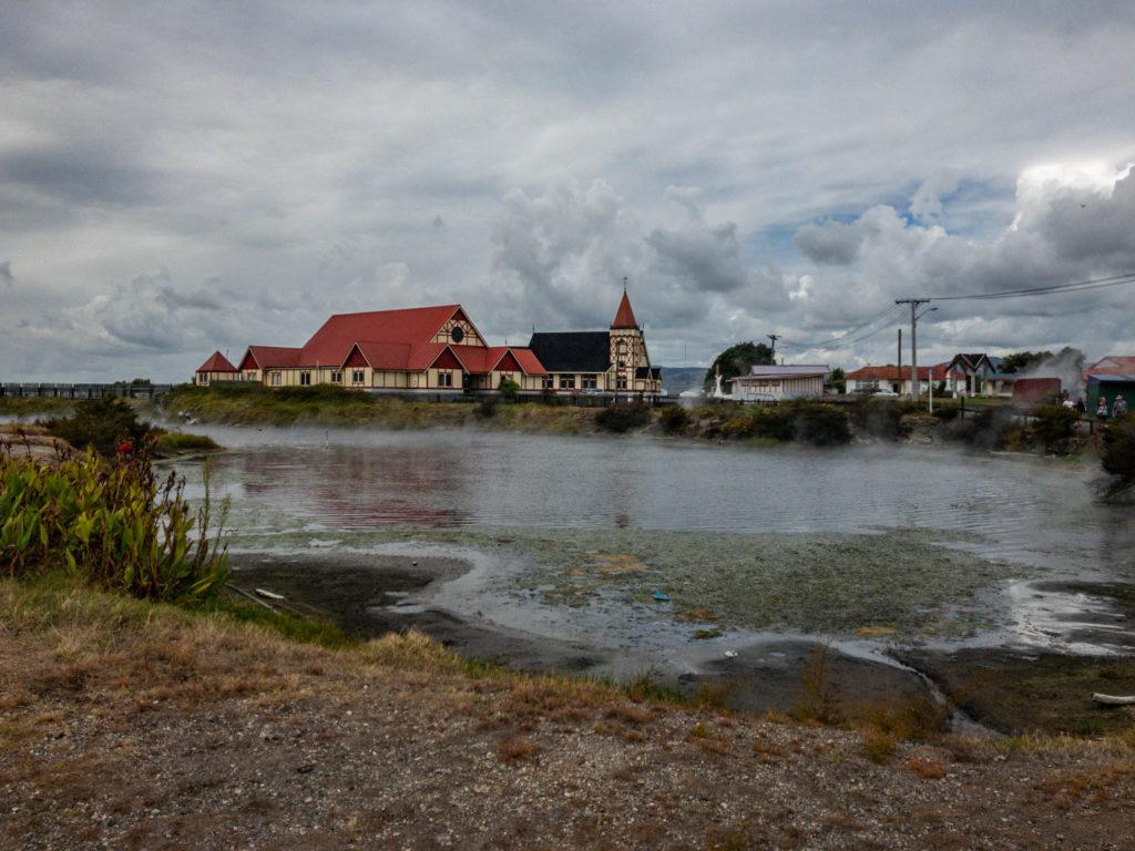 Le village maori