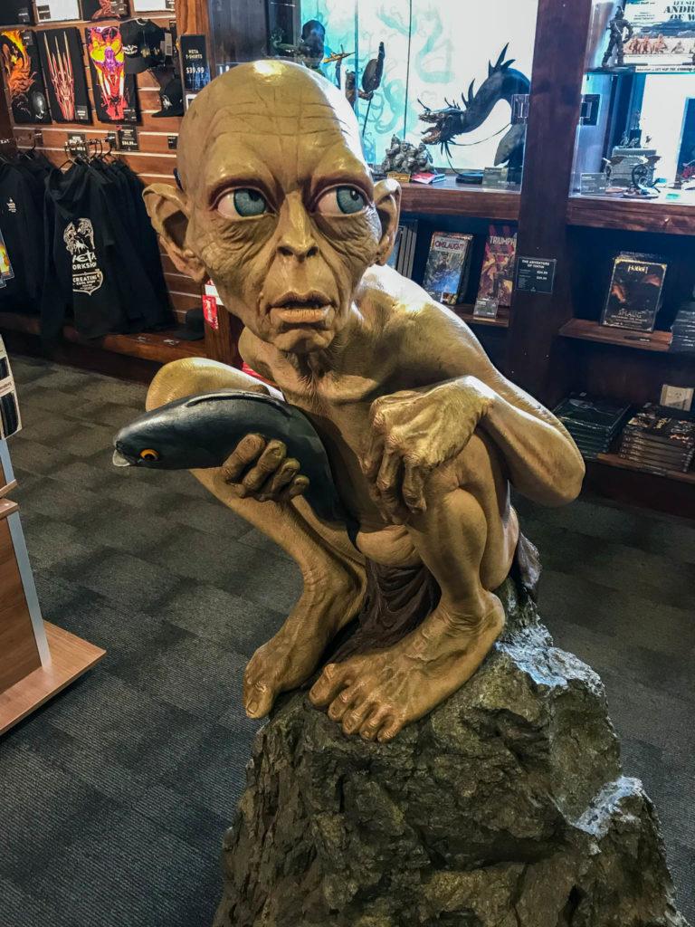 Gollum dans la boutique