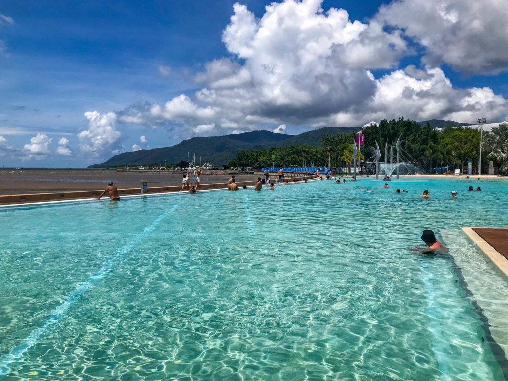 Le lagoon de Cairns