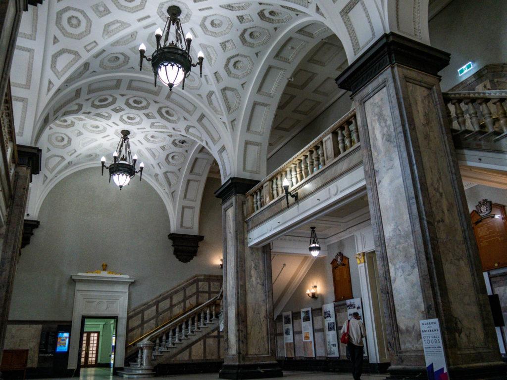 L'intérieur de l'hôtel de ville