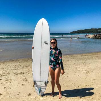 Byron Bay, hippies, vegan et surf