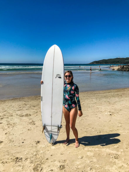 Byron Bay, hippies, vegan et surf