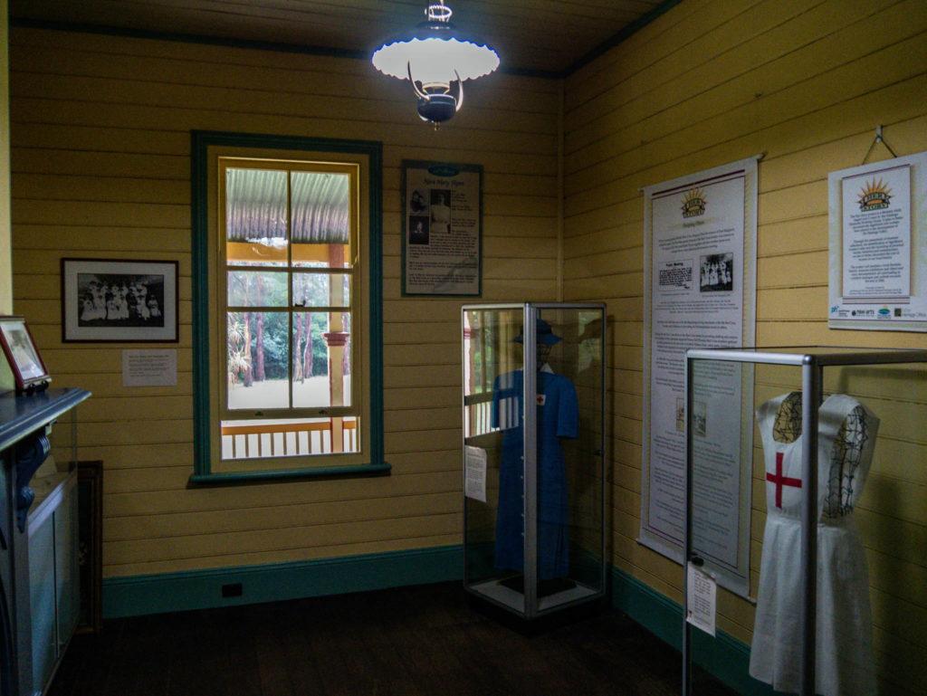 Dans la maison historique