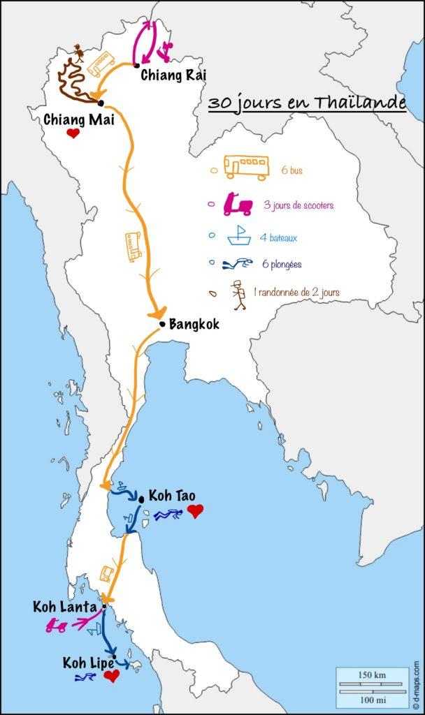 Bilan Thaïlande