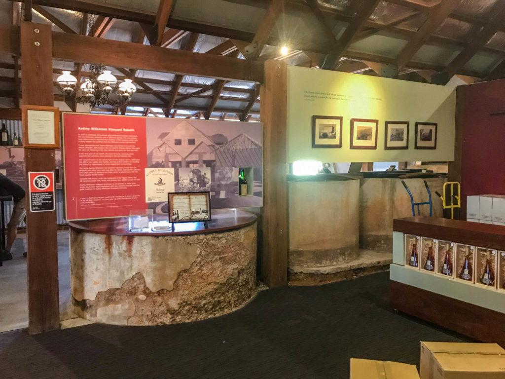 Le petit musée sur la famille de vignerons