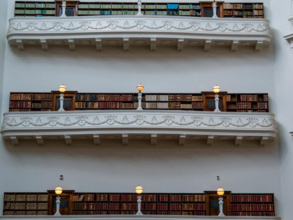 La bibliothèque de Melbourne