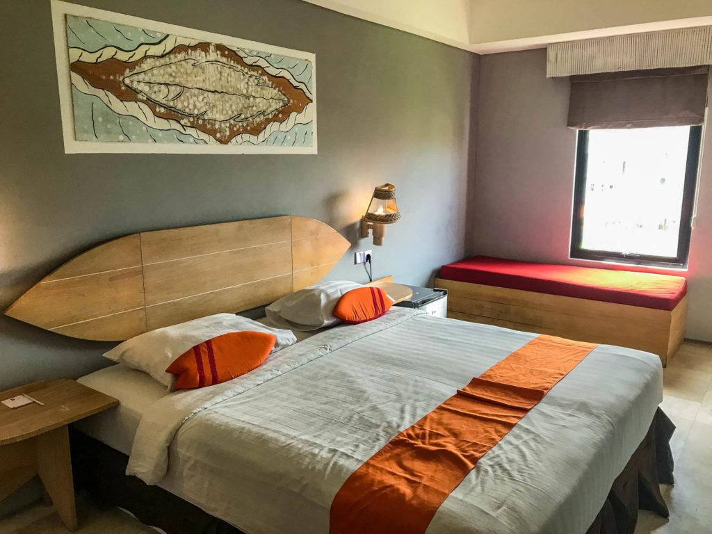 Chambre du Koa D surfer hôtel